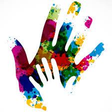 Hand Print Image
