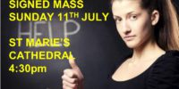 Signed Mass For The Deaf – Sunday 11th July
