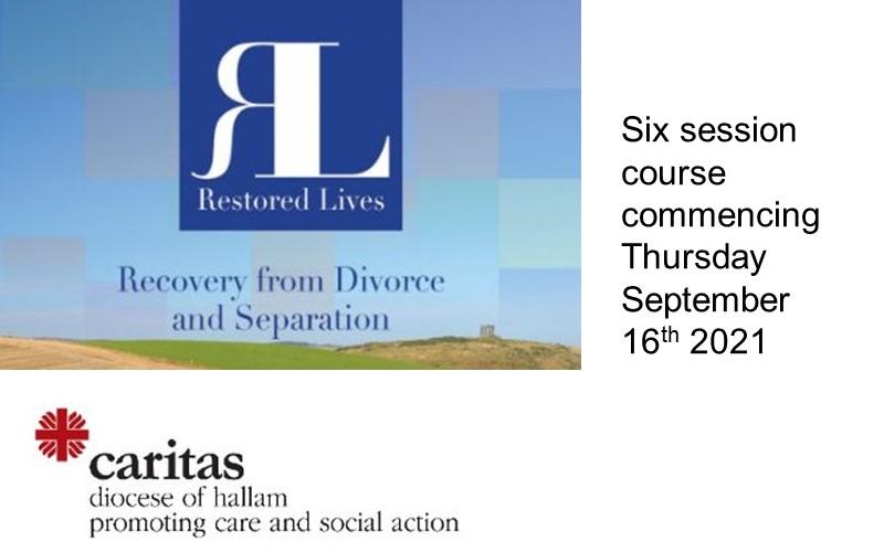 Restored Lives - September 2021 / Six Session Course
