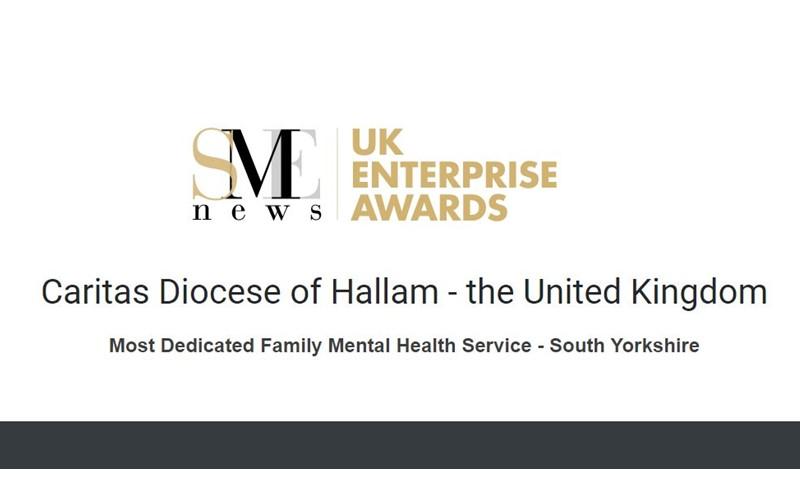 Caritas Diocese of Hallam / UK Enterprise Award